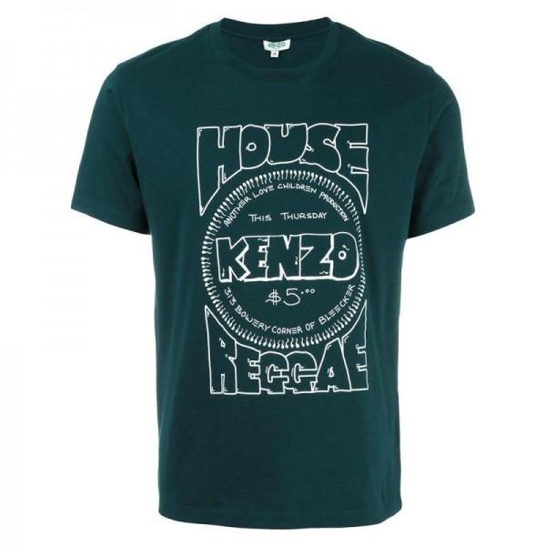 Kenzo House Tişört Yeşil Erkek