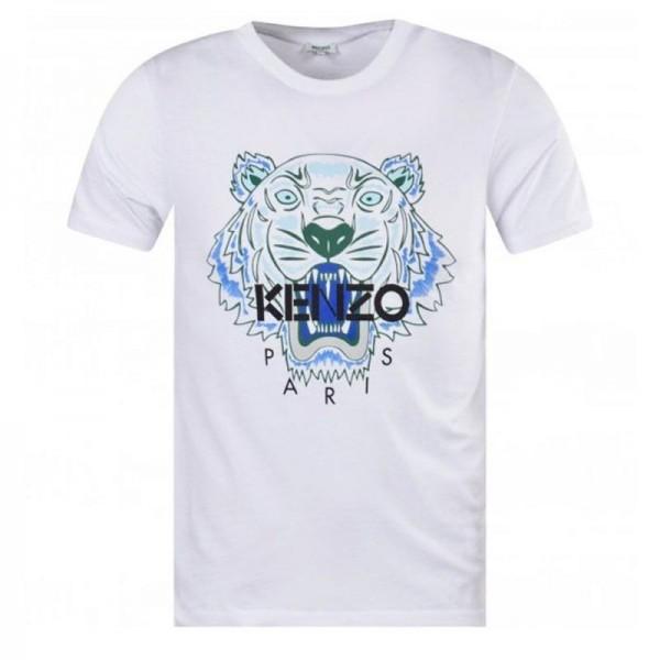 Kenzo Logo Tişört Erkek Beyaz