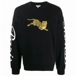 Kenzo Tiger Sweatshirt Erkek Siyah