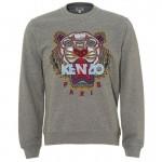 Kenzo Tiger Sweatshirt Gri Erkek
