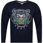 Kenzo Tiger Sweatshirt Lacivert Erkek