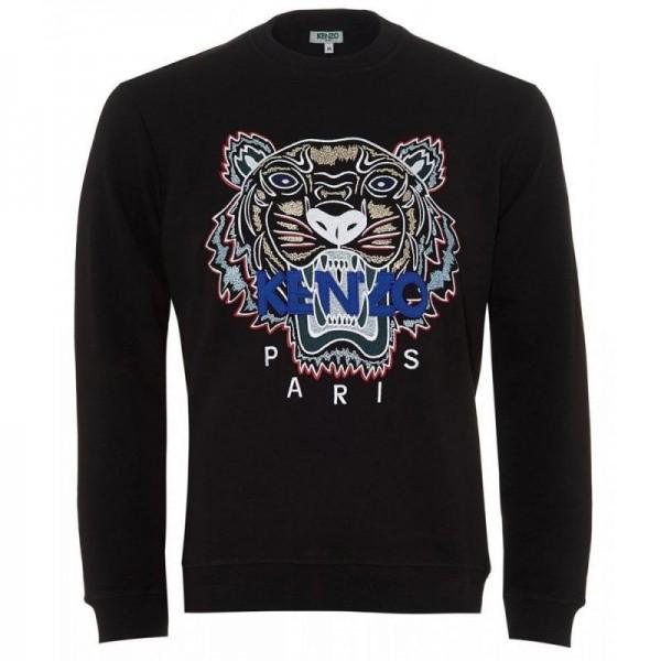 Kenzo Tiger Sweatshirt Siyah Erkek