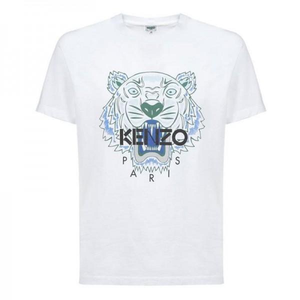 Kenzo Tiger Tişört Erkek Beyaz