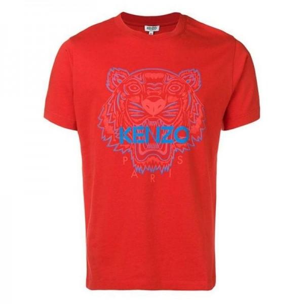Kenzo Tiger Tişört Erkek Kırmızı
