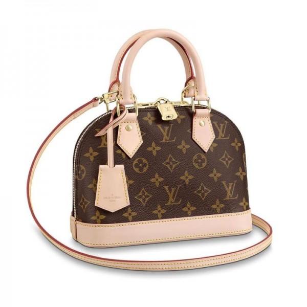 Louis Vuitton Alma Çanta Kadın Kahverengi