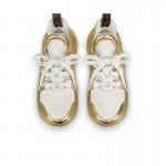 Louis Vuitton Archlight Ayakkabı Kadın Sarı