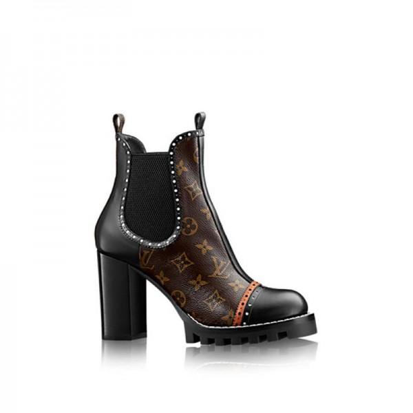Louis Vuitton Boyish Ayakkabı Siyah Kadın