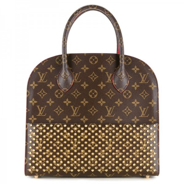 Louis Vuitton Christian Çanta Kahverengi Kadın