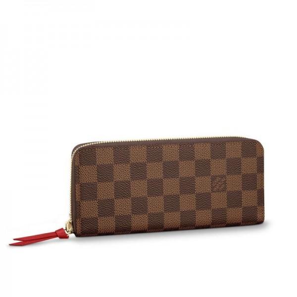 Louis Vuitton Clemence Cüzdan Kadın Kahverengi