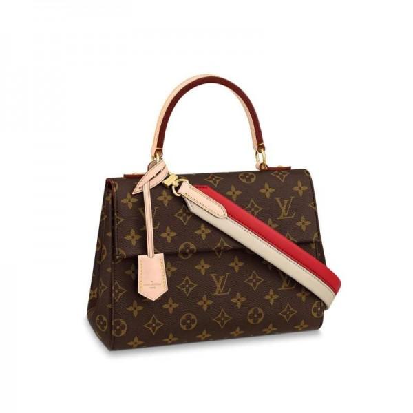 Louis Vuitton Cluny Çanta Kadın Kahverengi