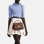 Louis Vuitton Croisette Çanta Kadın Kahverengi