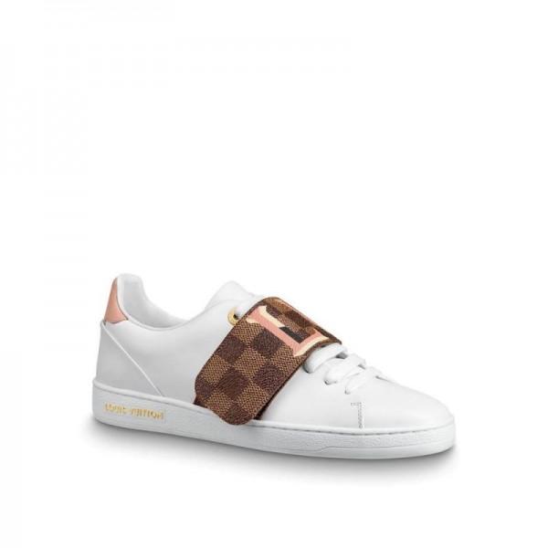 Louis Vuitton Frontrow Stripe Ayakkabı Kadın Beyaz