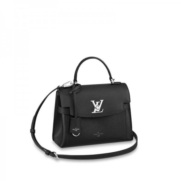 Louis Vuitton Lockme Çanta Kadın Siyah