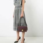 Louis Vuitton Monogram Çanta Mor Kadın