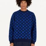 Louis Vuitton Monogram Sweatshirt Mavi