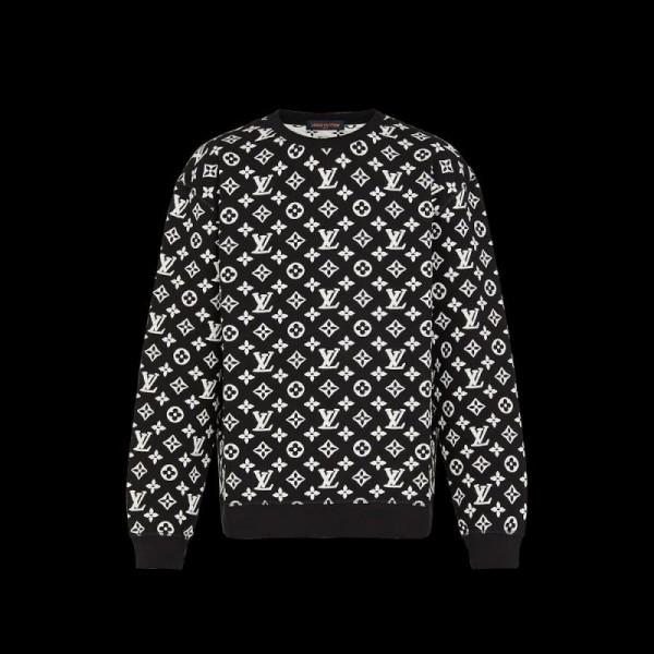 Louis Vuitton Monogram Sweatshirt Siyah
