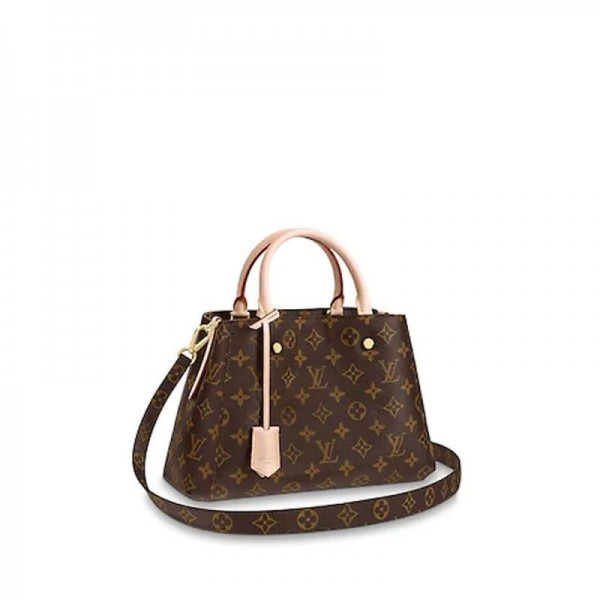 Louis Vuitton Montaigne Çanta Kadın Kahverengi