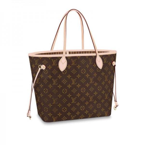 Louis Vuitton Neverfull Çanta Kadın Bej