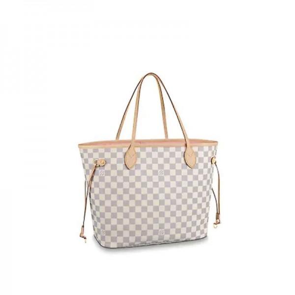 Louis Vuitton Neverfull Çanta Kadın Beyaz