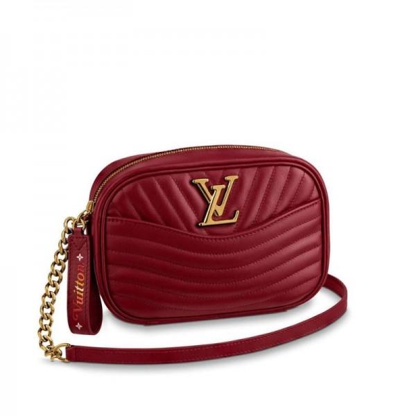 Louis Vuitton New Wave Çanta Kadın Kırmızı