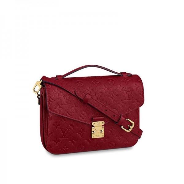 Louis Vuitton Pochette Çanta Kadın Kırmızı