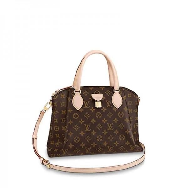 Louis Vuitton Rivoli Çanta Kadın Kahverengi