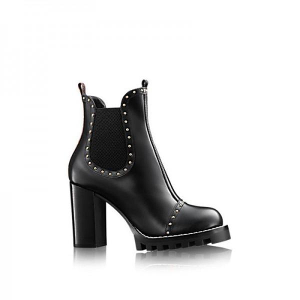 Louis Vuitton Rockabily Ayakkabı Siyah Kadın