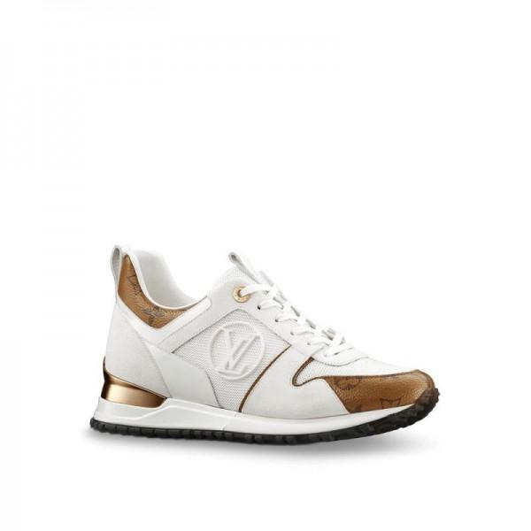 Louis Vuitton Run Away Ayakkabı Beyaz Kadın