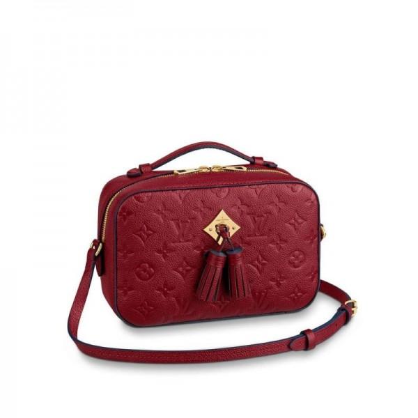 Louis Vuitton Saintonge Çanta Kadın Kırmızı