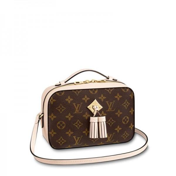 Louis Vuitton Saintonge Çanta Kadın Krem