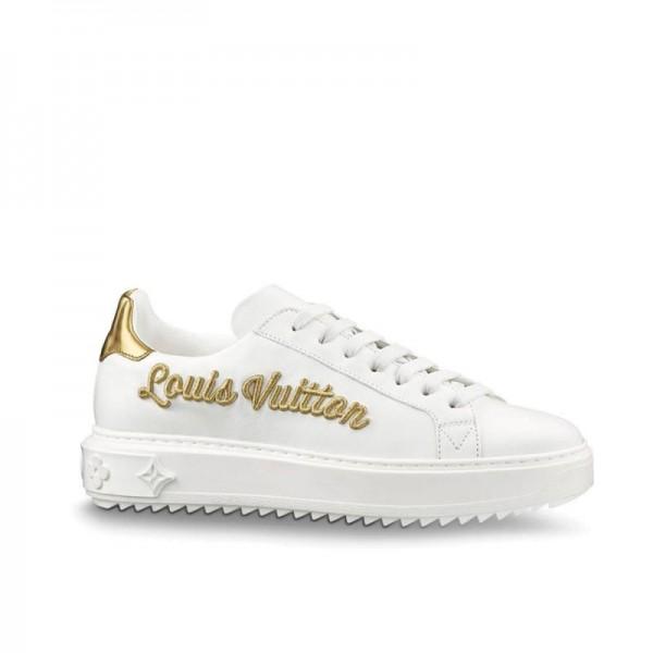 Louis Vuitton Time Out Ayakkabı Beyaz Kadın