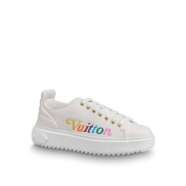 Louis Vuitton Time Out Ayakkabı Kadın Beyaz