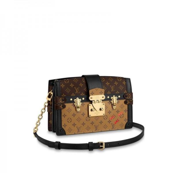 Louis Vuitton Trunk Çanta Kadın Siyah