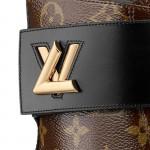 Louis Vuitton Wonderland Bot Kadın Kahverengi