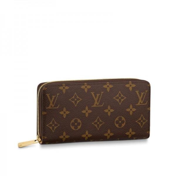 Louis Vuitton Zippy Cüzdan Kadın Kahverengi