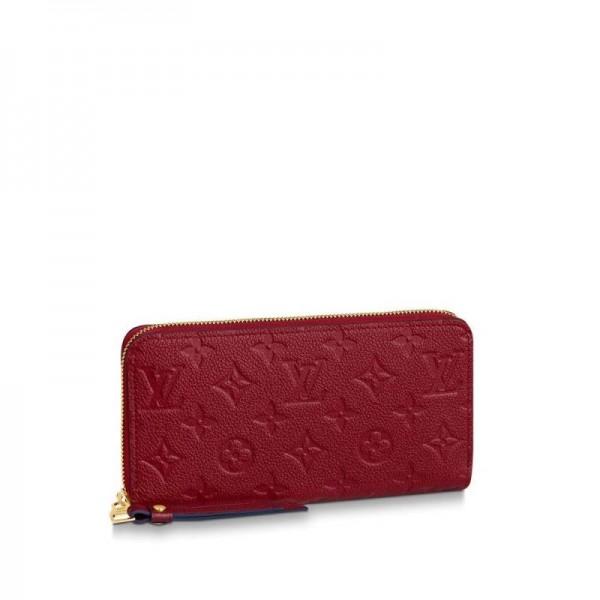 Louis Vuitton Zippy Cüzdan Kadın Kırmızı