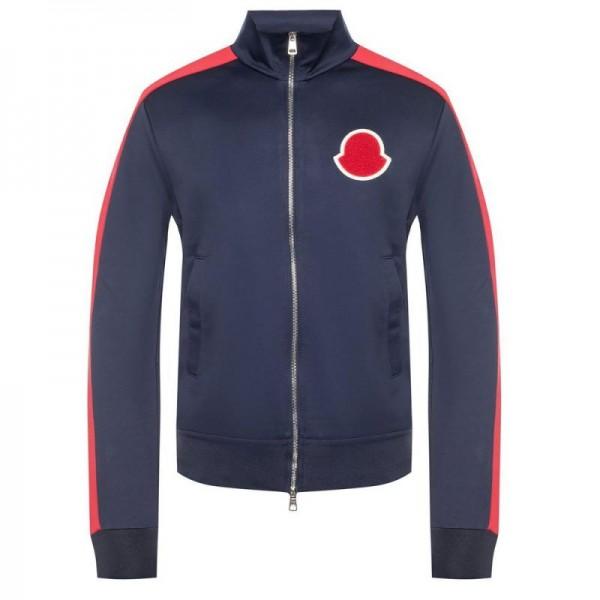 Moncler Branded Sweatshirt Erkek Lacivert