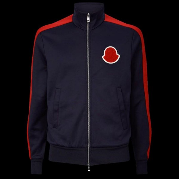 Moncler Cardigan Sweatshirt Erkek Lacivert