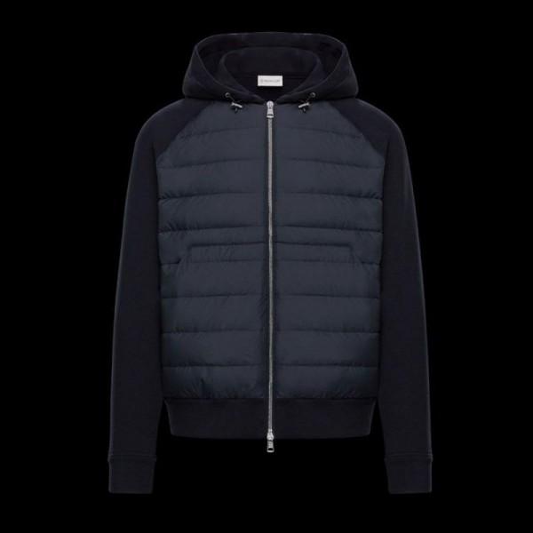 Moncler Cardigan Sweatshirt Lacivert