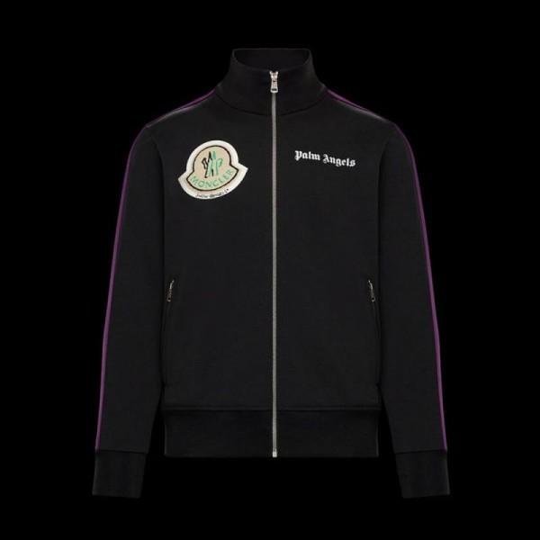 Moncler Cardigan Sweatshirt Unisex Siyah