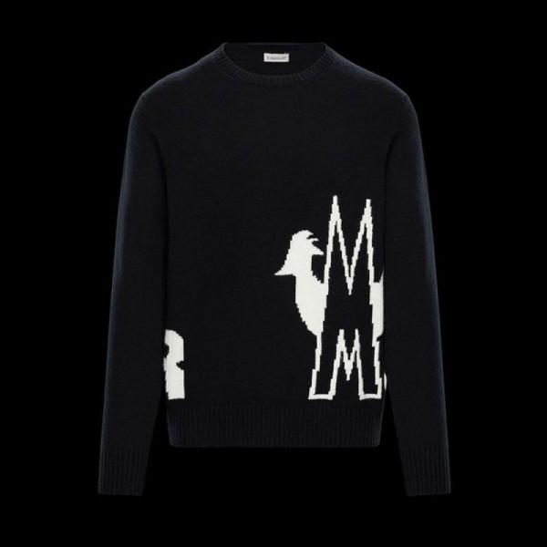 Moncler Crewneck Sweatshirt Erkek Siyah