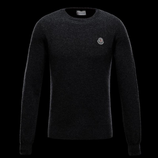 Moncler Crewneck Sweatshirt Gri Erkek