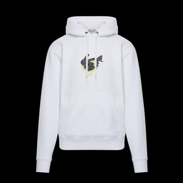 Moncler Fragment Sweatshirt Beyaz