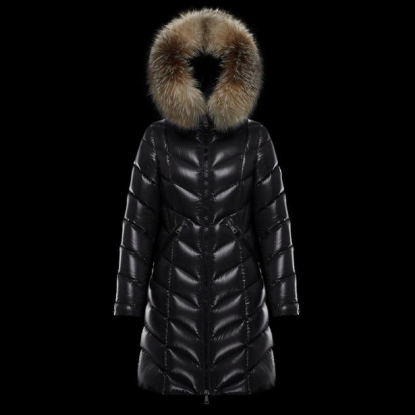 Moncler Fulmarus Mont Kadın Siyah