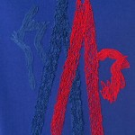 Moncler Graphic Tişört Mavi Erkek