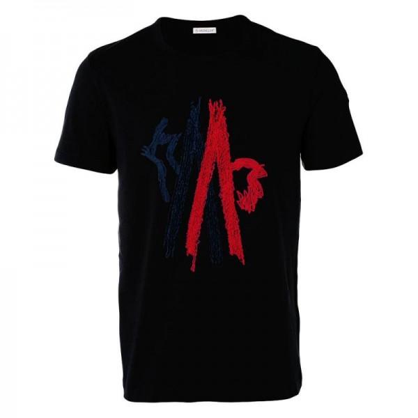 Moncler Graphic Tişört Siyah Erkek