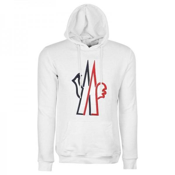Moncler Grenoble Sweatshirt Erkek Beyaz