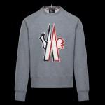 Moncler Grenoble Sweatshirt Gri Erkek