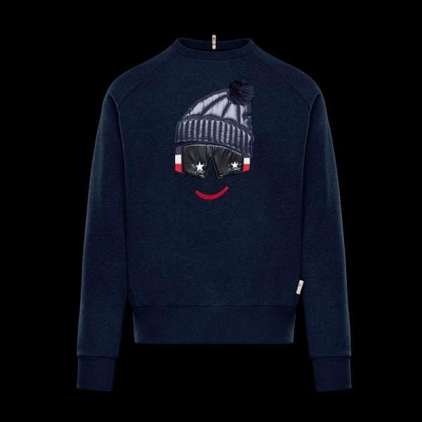 Moncler Grenoble Sweatshirt Siyah Erkek