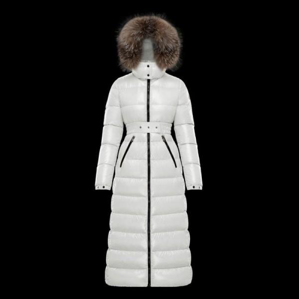 Moncler Hudson Mont Kadın Beyaz